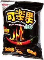 Koloko Pea Crackers Crazy Spicy
