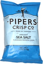 Pipers Crisp Co. Anglesey Sea Salt Flavored Potato Chips