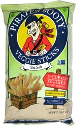 Pirate's Booty Veggie Sticks Sea Salt