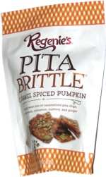 Regenie's Pita Brittle Caramel Spiced Pumpkin