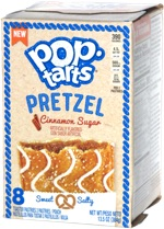 Pop-Tarts Pretzel Cinnamon Sugar