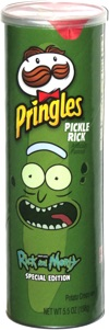 Pringles Pickle Rick