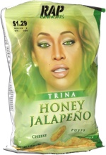 Rap Snacks Trina Honey Jalapeño Cheese Puffs