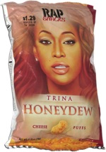 Rap Snacks Trina Honeydew Cheese Puffs