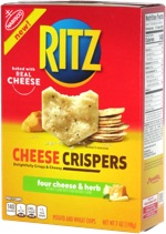 Ritz Cheese Crispers Four Cheese & Herb
