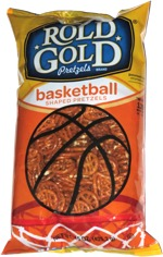 Rold Gold Basketball Shaped Pretzels