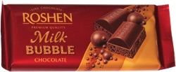 Roshen Milk Bubble Chocolate