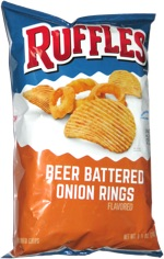 Ruffles Beer Battered Onion Rings