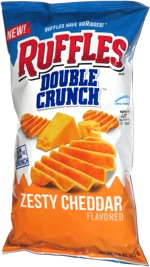 Ruffles Double Crunch Zesty Cheddar