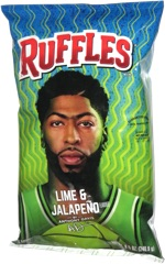 Ruffles Lime & Jalapeño by Anthony Davis