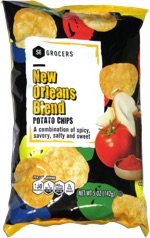 SE Grocers New Orleans Blend Potato Chips