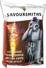 Savoursmiths Bubbly Serrano Chilli Potato Chips
