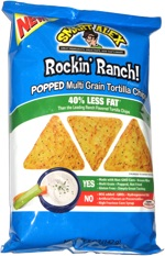 Smart Alex Rockin' Ranch! Popped Multi Grain Tortilla Chips