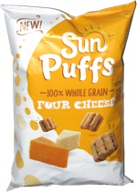 Sun Puffs Four Cheese