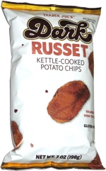 Trader Joe's Dark Russet Kettle-Cooked Potato Chips