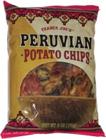 Trader Joe's Peruvian Potato Chips
