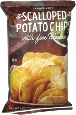 Trader Joe's Scalloped Potato Chips with Five Cheeses