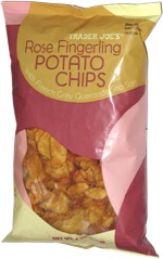 Trader Joe's Rose Fingerling Potato Chips