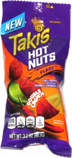 Takis Hot Nuts Flare