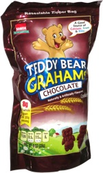 Teddy Bear Grahams Chocolate