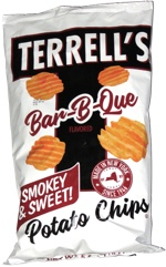 Terrell's Bar-B-Que Smokey & Sweet Potato Chips