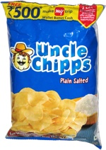 Uncle Chipps Plain Salted Potato Chips