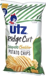 Utz Ridge Cut Jalapeño Cheddar Potato Chips