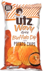 Utz Wavy Spicy Buffalo Dip Potato Chips