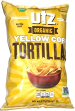 Utz Organic Yellow Corn Tortillas
