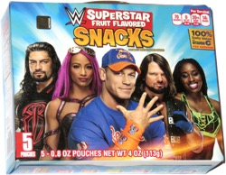 WWE Superstar Fruit Flavored Snacks