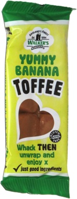 Walker's Yummy Banana Toffee
