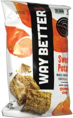 Way Better Snacks Sweet Potato Whole Grain Corn Tortilla Chips
