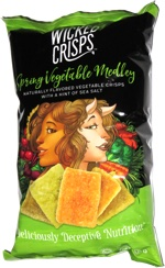 Wicked Crisps Spring Vegetable Medley