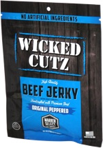 Wicked Cutz Beef Jerky Original Peppered