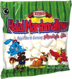 Ziyad Halal Marshmallows (White)