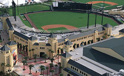 Buy Here Pay Here Atlanta >> Atlanta Braves at Champion Stadium (Florida Spring Training Stadiums - Disney's Wide World of ...